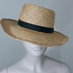 LL Bean Wicker Hat Sz XL